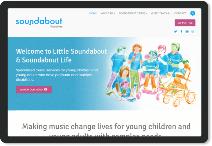 Soundabout Screen